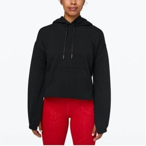 Lululemon Stronger As One Cropped Hoodie